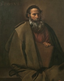 Diego Velasquez depiction of the Apostle Paul, a man with some serious gravitas